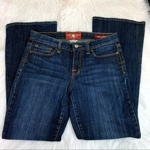 Lucky Brand Sofia Boot Cut Jeans Ankle